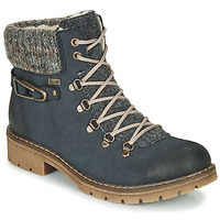 Schuhe Damen Boots Rieker Y9131-16 Blau