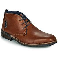 Schuhe Herren Boots Rieker F1310-26 Braun