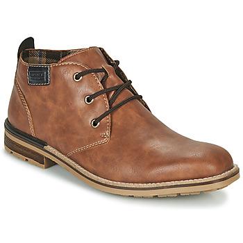 Schuhe Herren Boots Rieker BELAM Braun