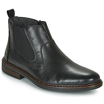 Schuhe Herren Boots Rieker DANE Schwarz