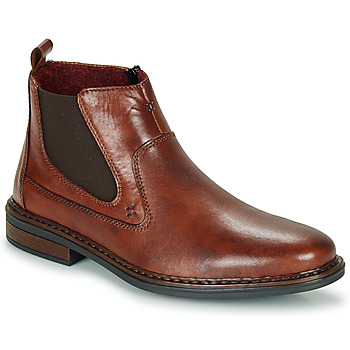 Schuhe Herren Boots Rieker DANE Braun