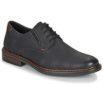 Schuhe Herren Derby-Schuhe Rieker 17600-03 Schwarz