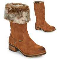 Schuhe Damen Klassische Stiefel Rieker 96854-26 Camel