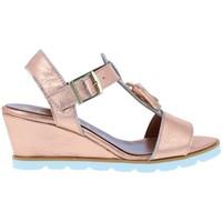 Schuhe Damen Sandalen / Sandaletten Carmela Carmela 66758 Sandalias Casual de Mujer Beige