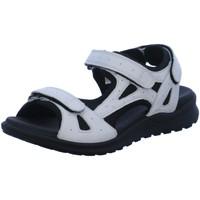 Schuhe Damen Sportliche Sandalen Legero Sandaletten 4-00732-10 weiß