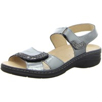 Schuhe Damen Sandalen / Sandaletten Longo Sandaletten Bequem-Sandalette,anthrazit 1020106 2 grau