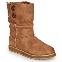 Schuhe Damen Boots Skechers KEEPSAKES 2.0 Camel