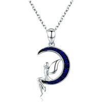 Uhren & Schmuck Damen Anhänger Blue Pearls CRY C2028 J Multicolor