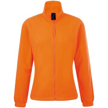 Kleidung Damen Fleecepullover Sols NORTH POLAR WOMEN Naranja