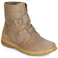 Schuhe Damen Boots El Naturalista ANGKOR Grau