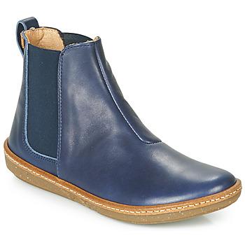 Schuhe Damen Boots El Naturalista CORAL Blau