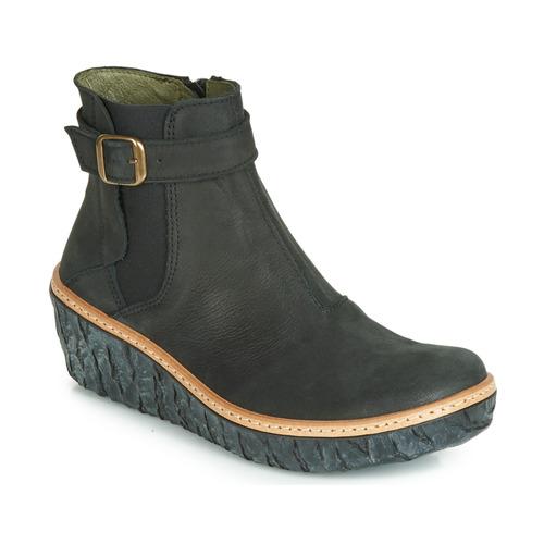 El Naturalista MYTH YGGDRASIL Schwarz - Kostenloser Versand       - Schuhe Low Stiefel Damen 145