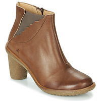 Schuhe Damen Klassische Stiefel El Naturalista TRIVIA Braun