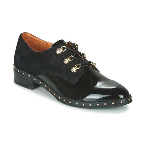 Mam'Zelle SIROE Schwarz - Kostenloser Versand       - Schuhe Derby-Schuhe Damen 119