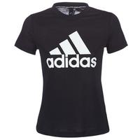 Kleidung Damen T-Shirts adidas Performance DY7734 Schwarz