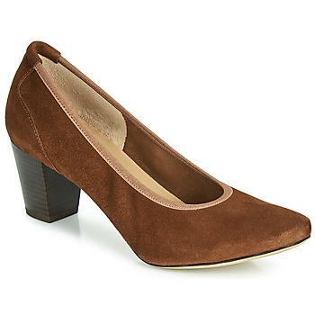 Schuhe Damen Pumps Perlato 10362-CAM-COGNAC Cognac