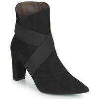 Schuhe Damen Low Boots Perlato 11327-CAM-NOIR Schwarz