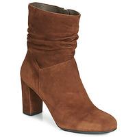 Schuhe Damen Low Boots Perlato 11265-CAM-COGNAC Cognac