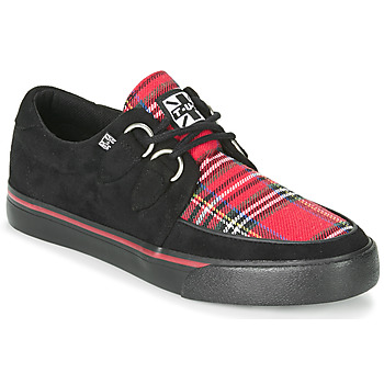 Schuhe Sneaker Low TUK CREEPER SNEAKERS Schwarz / Schwarz / multi