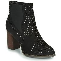 Schuhe Damen Low Boots Xti LOVALO Schwarz