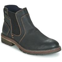 Schuhe Herren Boots Tom Tailor MARTY Schwarz