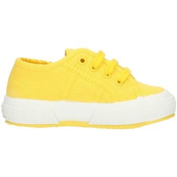 Schuhe Kinder Sneaker Low Superga 2750S0005P0 Gelbe Sonnenblume