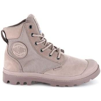 Schuhe Damen Boots Palladium Manufacture Pampa Sport Cuff Wpn Grau