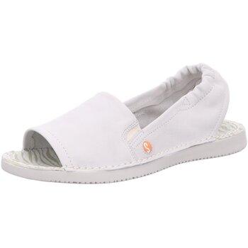 Schuhe Damen Sandalen / Sandaletten Softinos Sandaletten TEE 900430-009 white weiß