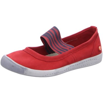 Schuhe Damen Slipper Softinos Slipper Spange P900 446-013 rot