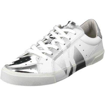Schuhe Damen Sneaker Low Bikkembergs Rubber BKW101383 weiß