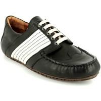 Schuhe Herren Derby-Schuhe Beeck Schnuerschuhe Checkerd Flag Checkerd Flag schwarz