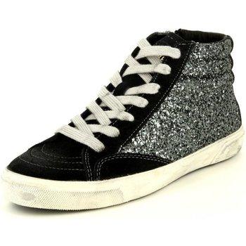 Schuhe Damen Sneaker High Bikkembergs Rubber 539 BKW101191 schwarz