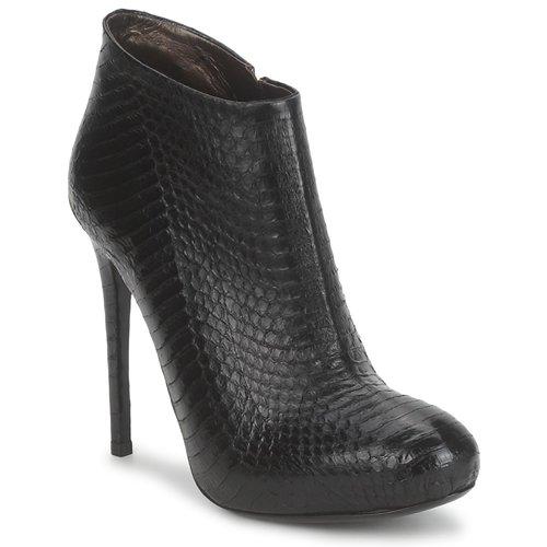 Schuhe Damen Low Boots Roberto Cavalli TRONCHETTO Schwarz