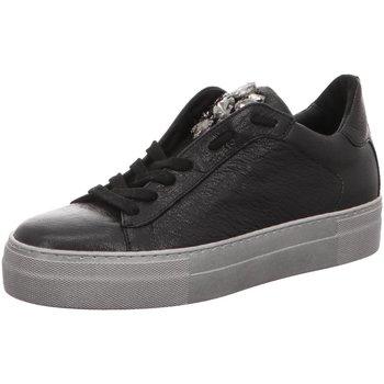 Schuhe Damen Sneaker Low Donna Carolina 34.168.124-005 schwarz