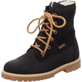 Schuhe Mädchen Boots Däumling Schnuerstiefel 280011S47 blau