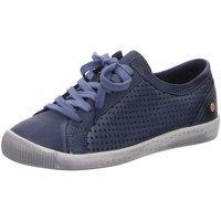 Schuhe Damen Sneaker Low Softinos Schnuerschuhe ICA P900388006 blau