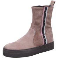 Schuhe Damen Low Boots Donna Carolina Stiefeletten D Boots kalt kombi 38.168.232-007 beige