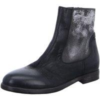 Schuhe Damen Klassische Stiefel Moma Stiefeletten 80803-AA schwarz