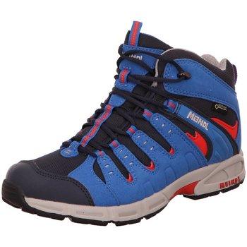 Schuhe Jungen Wanderschuhe Meindl Bergschuhe Snap Junior Mid GTX 2073-79 blau