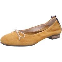 Schuhe Damen Ballerinas Donna Carolina Ballerina dunkel 39.170.101-005 gelb