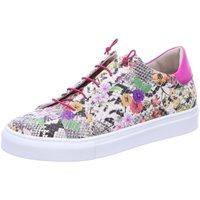 Schuhe Damen Sneaker Low Donna Carolina Schnuerschuhe D.Halbschuhe multiclolour 39.063.086-004 bunt