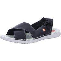 Schuhe Damen Sandalen / Sandaletten Softinos Sandaletten Tui P900501008 schwarz