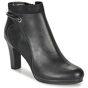 Schuhe Damen Low Boots Moony Mood FAZIOME Schwarz