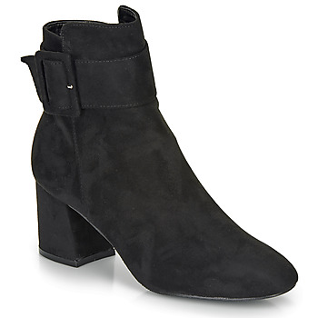 Schuhe Damen Low Boots Moony Mood FAZIOLE Schwarz