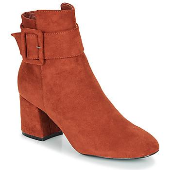 Schuhe Damen Low Boots Moony Mood FAZIOLE Orange