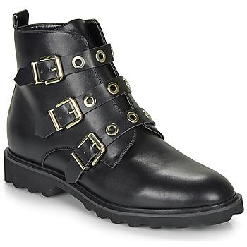Schuhe Damen Boots Moony Mood FIZANE Schwarz