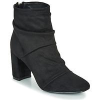Schuhe Damen Low Boots Moony Mood FIRETTE Schwarz