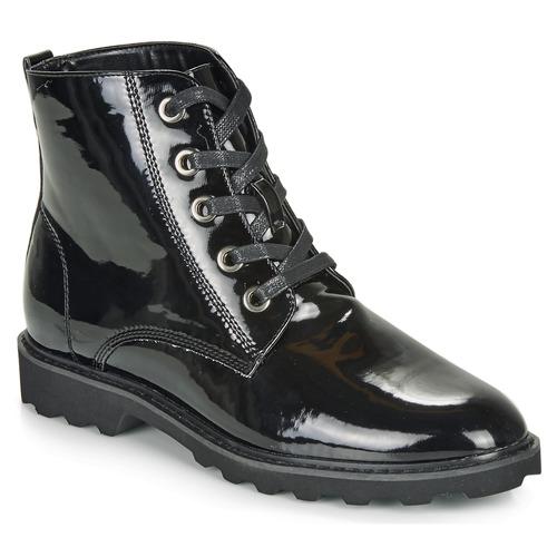 Schuhe Damen Boots Moony Mood FRULIN Schwarz