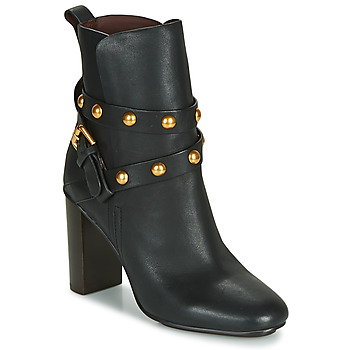 Schuhe Damen Low Boots See by Chloé NEO JANIS Schwarz