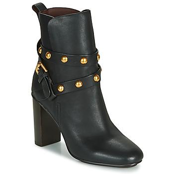 Schuhe Damen Low Boots See by Chloé NEO JANIS Schwarz